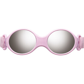 Julbo Loop S Spectron 4 Aurinkolasit Lapset, light rosa/rosa/grey flash silver